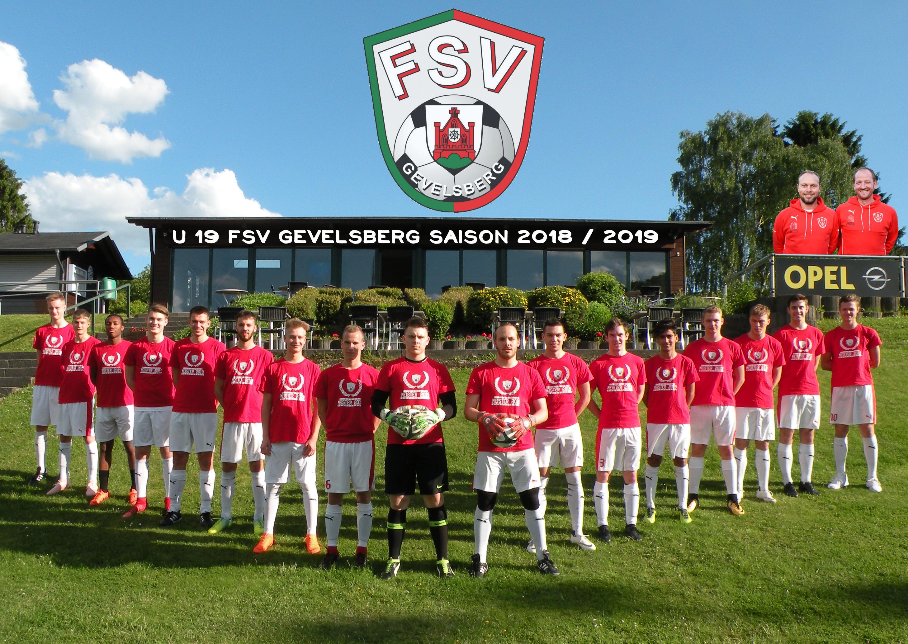 FSV Gevelsberg A-Jugend Kreismeisterschaft